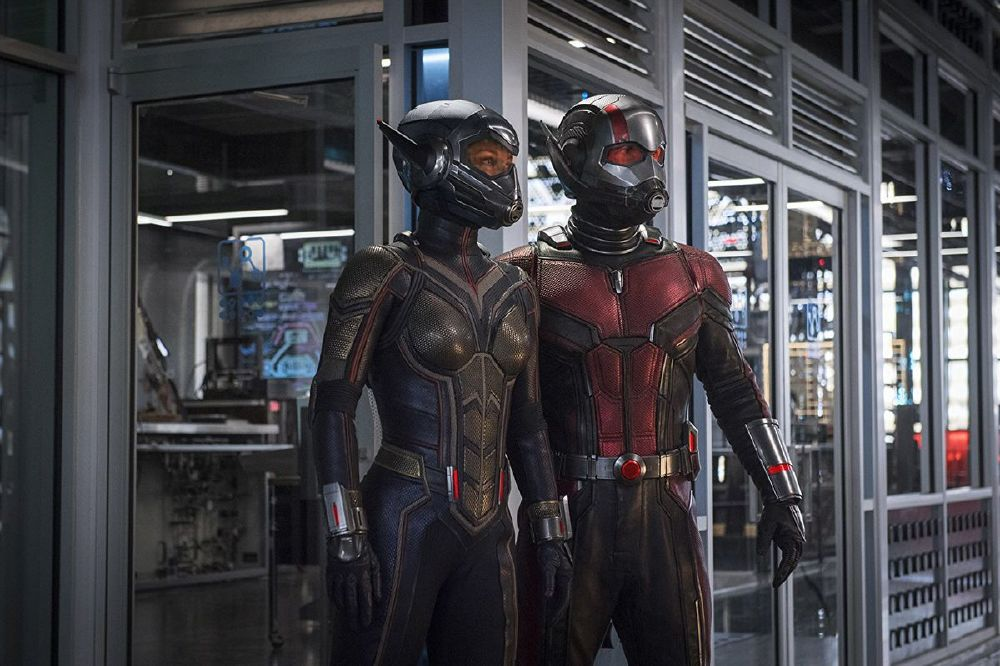 Evangeline Lilly and Paul Rudd star in Ant-Man and the Wasp