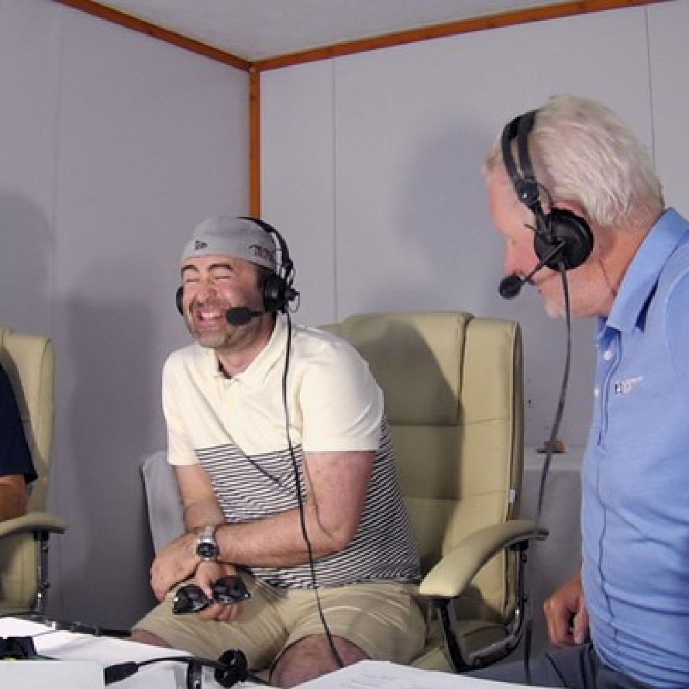 WATCH: Irish Open fans get tricked into doing fake commentary