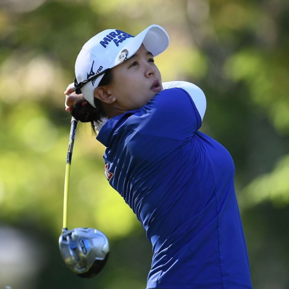 Kim takes good lead into final round of Mediheal Championship