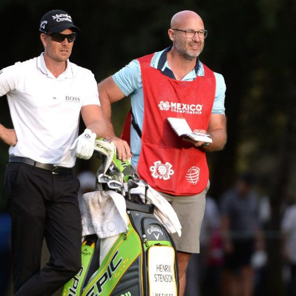 Henrik Stenson still searching for caddie