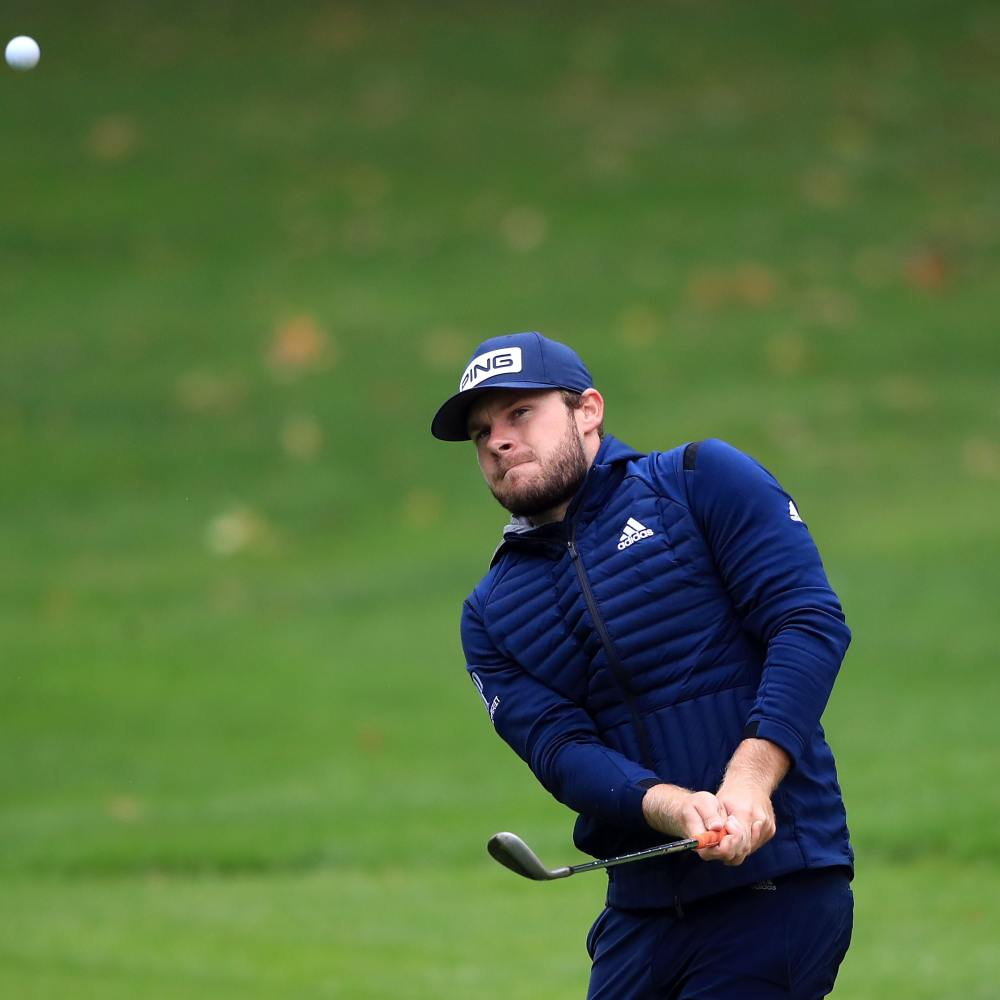 Tyrrell Hatton shares three-way tie for lead at BMW PGA Championship
