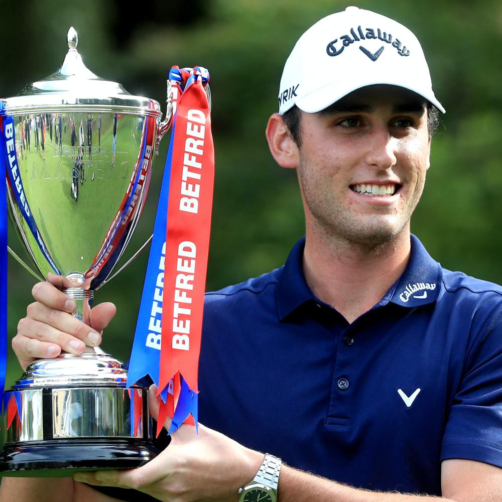 Renato Paratore sees hard work pay off with British Masters victory